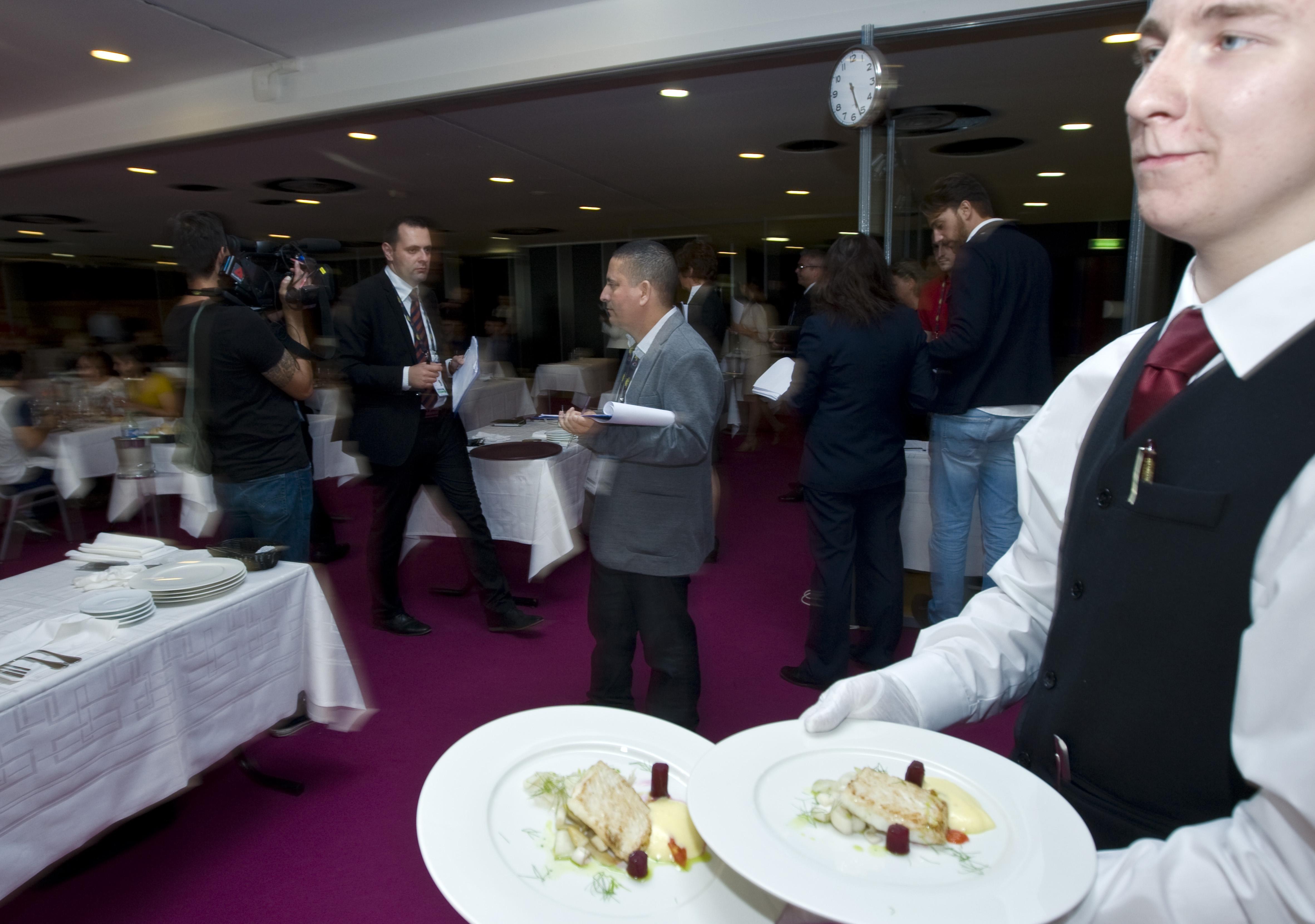 Euroskills 2014 team finland kilpailijat competitors for Restaurant laille 35